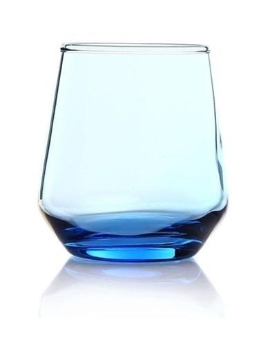 Paşabahçe 41536 6 Lı Mavi Allegra Bardak Su Bardağı - Meşrubat Bardağı Mavi